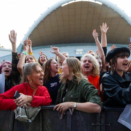 """Grupės """"The 1975"""" koncertas Vilniuje  © P. Peleckio / Fotobanko nuotr."""