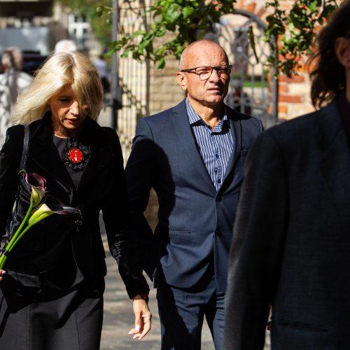 Atsisveikinimas su menininke J. Rekevičiūte  © P. Peleckio / Fotobanko nuotr.