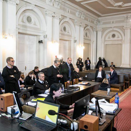 """MG Baltic"" savininkas D. Mockus teisme  © I. Gelūno / Fotobanko nuotr."
