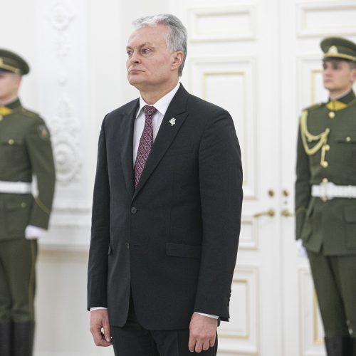 Laipsnių Lietuvos karininkams suteikimas  © P. Peleckio / Fotobanko, R. Dačkaus / Prezidentūros nuotr.