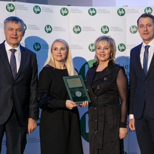 """Apdovanojimai """"Lietuvos metų gaminys 2019""""  © P. Peleckio / Fotobanko nuotr."""