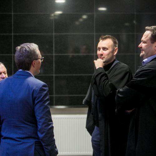 Kamuolinių bylos nagrinėjimas Kauno teisme  © Vilmanto Raupelio nuotr.