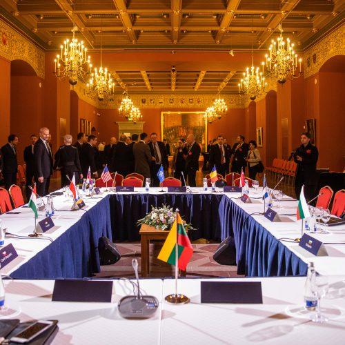 """""""Bukarešto devintuko"""" užsienio reikalų ministrų susitikimas"""