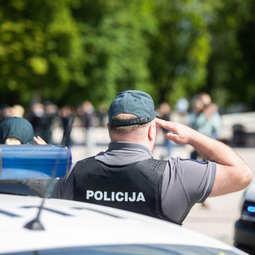 Atsisveikinimas su žuvusiu pareigūnu S. Žymantu  © I. Gelūno / Fotobanko,