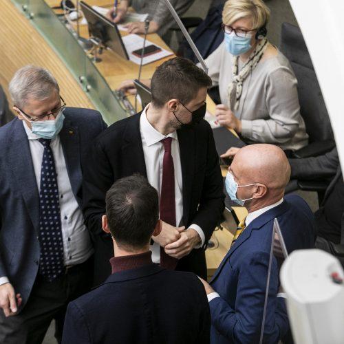 Seimo posėdis dėl 2021 metų biudžeto  © P. Peleckio / Fotobanko nuotr.