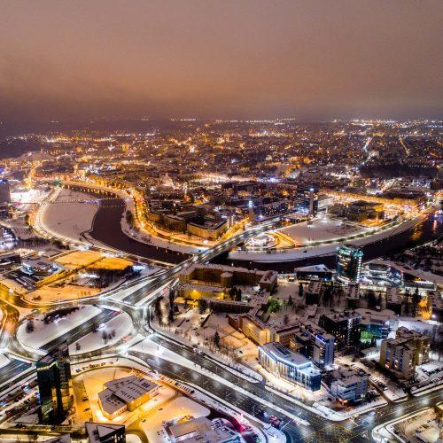 Sausio 13-osios išvakarės Vilniuje  © I. Gelūno / Fotobanko nuotr.