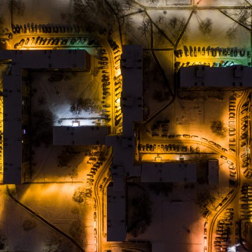 Žiemiškas Vilnius  © I. Gelūno / Fotobanko nuotr.