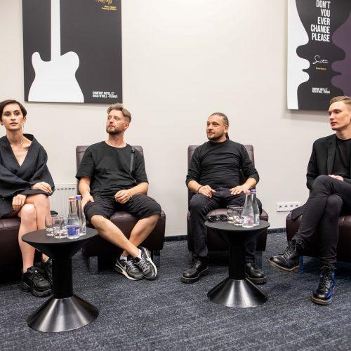 "Ukrainos grupės ""Go_A"" spaudos konferencija Vilniuje"