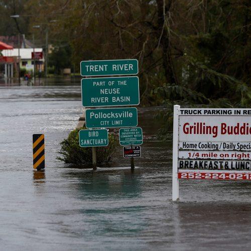 Katastrofiški potvyniai JAV pietryčiuose  © Scanpix nuotr.