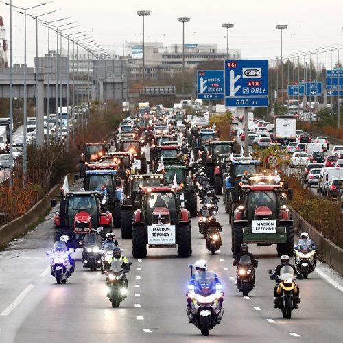 Ūkininkų protestas Prancūzijoje