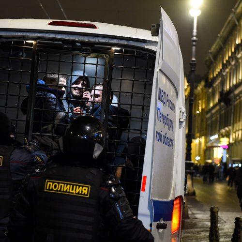 Rusijoje tęsiasi A. Navalno šalininkų protestai