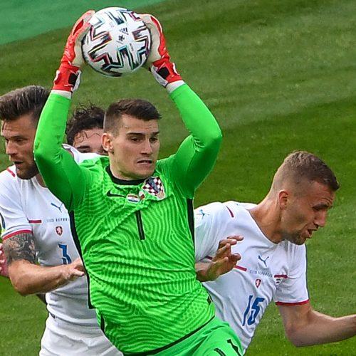 Europos futbolo čempionatas: Kroatija–Čekija 1:1  © Scanpix nuotr.