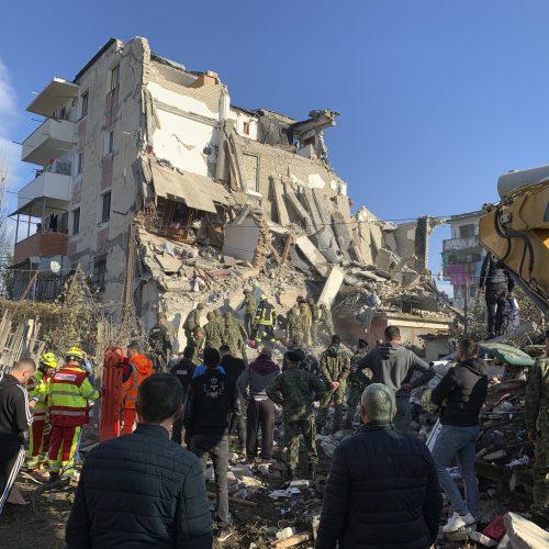 Žemės drebėjimas Albanijoje