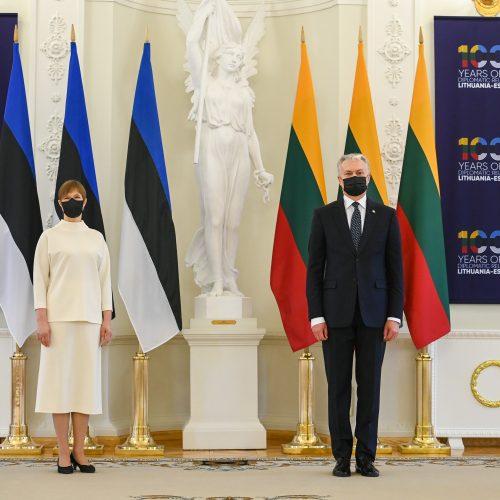 Lietuvos ir Estijos prezidentų susitikimas  © R. Dačkaus / Prezidentūros nuotr.