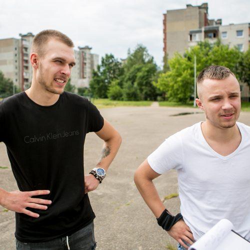 Kauno abiturientai laikė lietuvių kalbos egzaminą  © Vilmanto Raupelio nuotr.