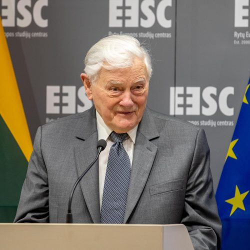 Prezidento Valdo Adamkaus vardo salės atidarymas Rytų Europos studijų centre  © L. Penek / LRVK nuotr.