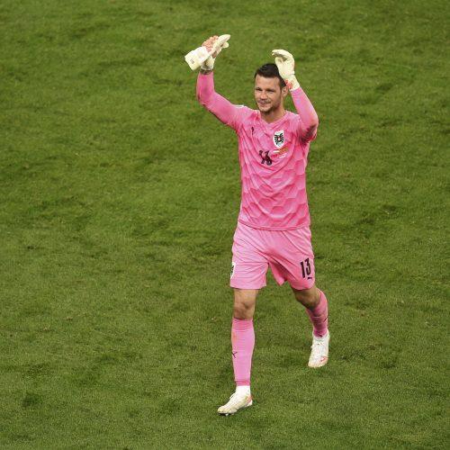 Europos futbolo čempionatas: Austrija–Šiaurės Makedonija 3:1  © Scanpix nuotr.