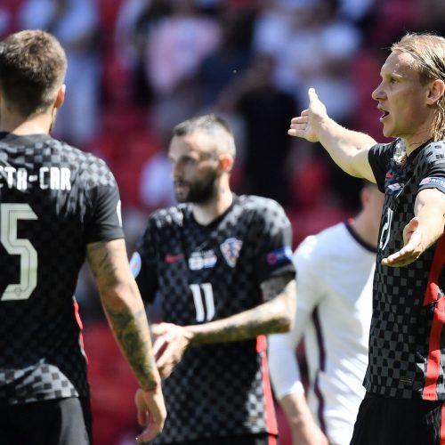 Europos futbolo čempionatas: Anglija–Kroatija 1:0