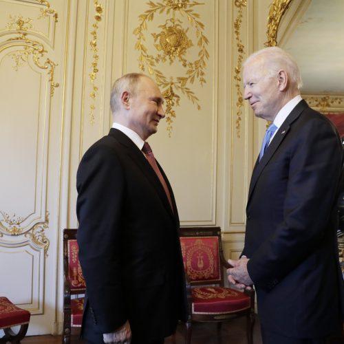 J. Bideno ir V. Putino susitikimas Ženevoje