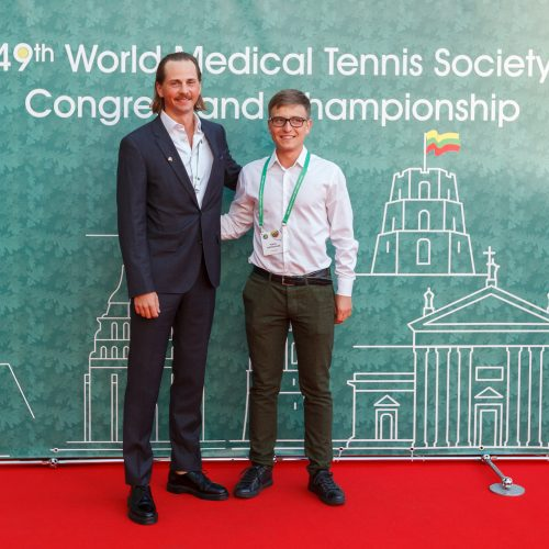 Pasaulio medikų ir odontologų teniso turnyro šventinis vakaras  © Mindaugo Navicko nuotr.