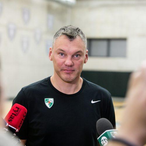 Š. Jasikevičiaus ir M. Grigonio interviu  © Teodoro Biliūno/Fotobankas