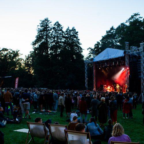 C. Mockasino koncertas VU botanikos sode  © P.Peleckio/Fotobanko nuotr.