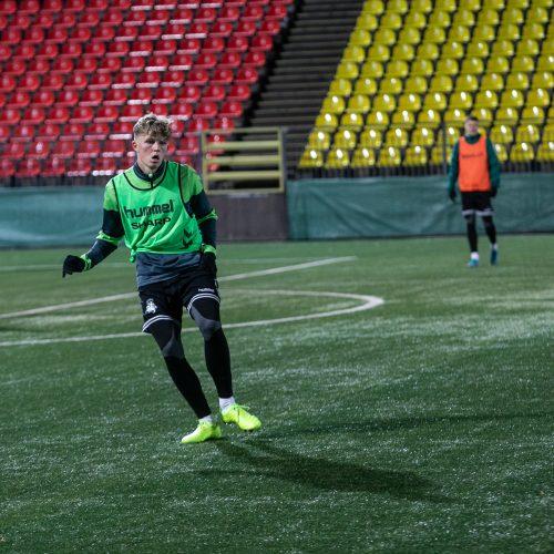 Lietuvos vyrų futbolo rinktinės treniruotė  © P.Peleckio/Fotobanko nuotr.