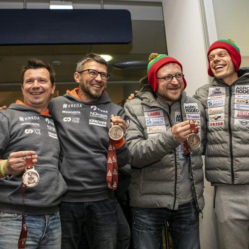 Lenktynininkų sutiktuvės  © P.Peleckio/Fotobanko nuotr.