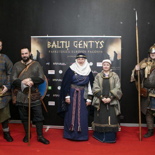 """Filmo """"Baltų gentys"""" premjera  © P.Peleckio/Fotobanko nuotr."""