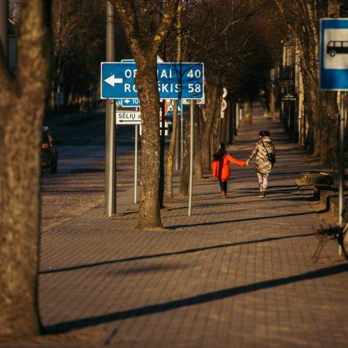 Karantinas Zarasuose  © I. Gelūno/Fotobanko nuotr.