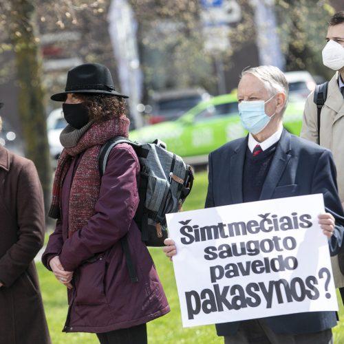 Kultūros paveldo laidotuvės  © P. Peleckio/Fotobanko nuotr.
