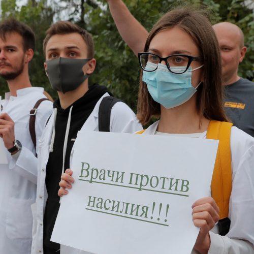 Baltarusijoje tęsiasi neramumai  © Scanpix, ITAR-TASS nuotr.