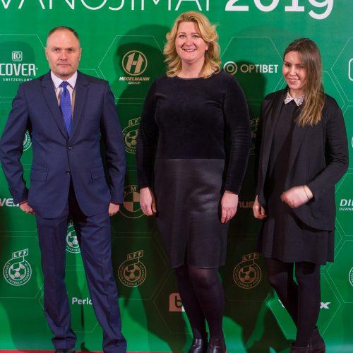 Lietuvos futbolo geriausiųjų apdovanojimų ceremonija  © Butauto Barausko nuotr.