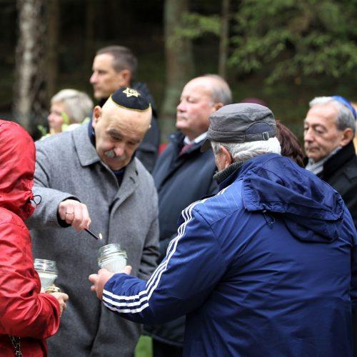 Paminklas žydų genocido aukoms Jaučakiuose  © Kauno rajono savivaldybės nuotr.