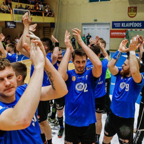 """Klaipėdos """"Dragūnas"""" devintą kartą tapo Lietuvos čempionu  © Vytauto Petriko nuotr."""