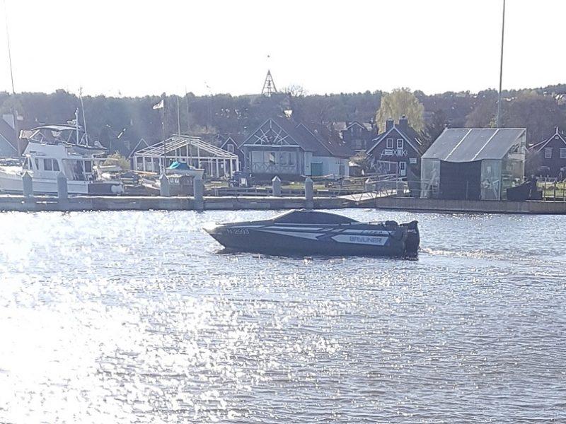 Keleivius katerio vairininkas į marias išplukdė būdamas girtas