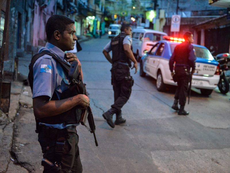 Rio de Žaneiro policija suėmė samdomų žudikų gaujos vadeivas