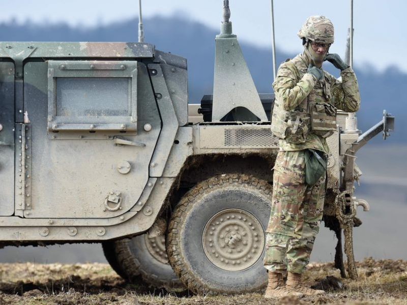 J. Bidenas galėtų atšaukti JAV sprendimą išvesti karius iš Vokietijos