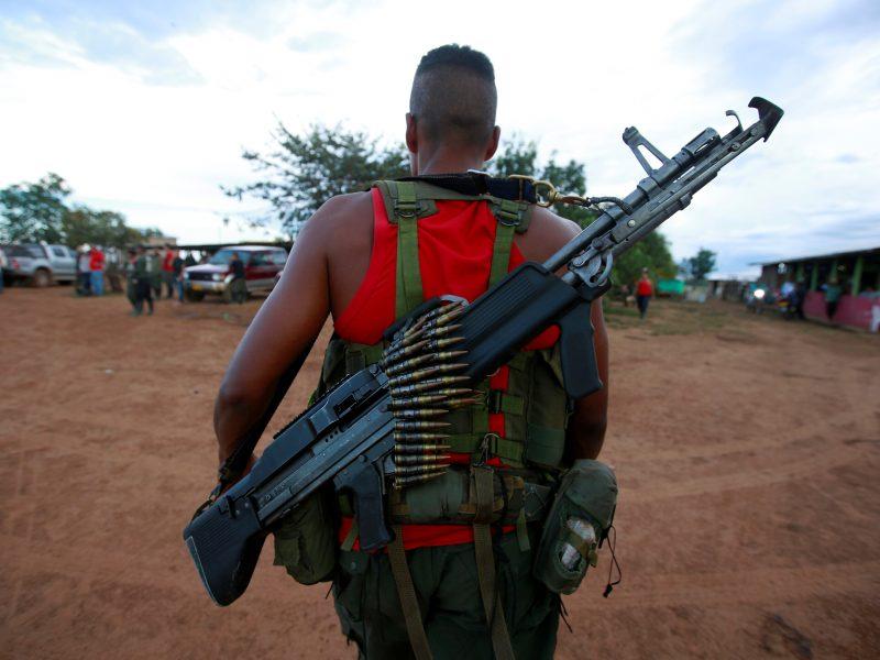 Kolumbijoje atsinaujino marksistų sukilėlių išpuoliai