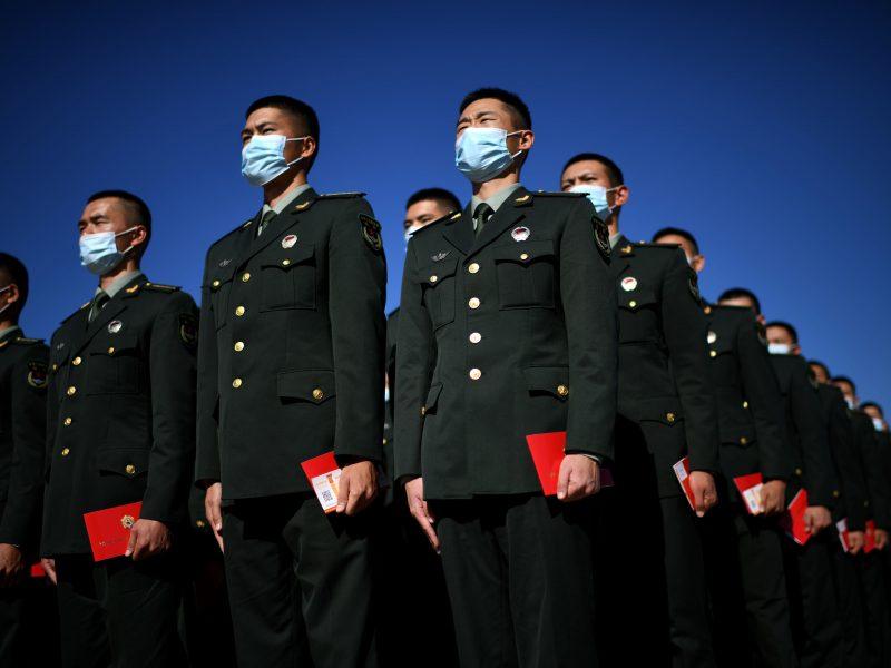 Kinija vis labiau stengiasi slopinti akademinę ir kultūros laisvę Vakaruose