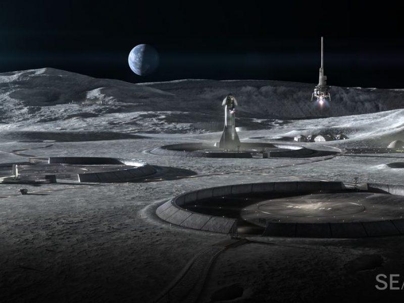 Mokslininkai prognozuoja valstybių ir privačių kompanijų peštynes dėl Mėnulio