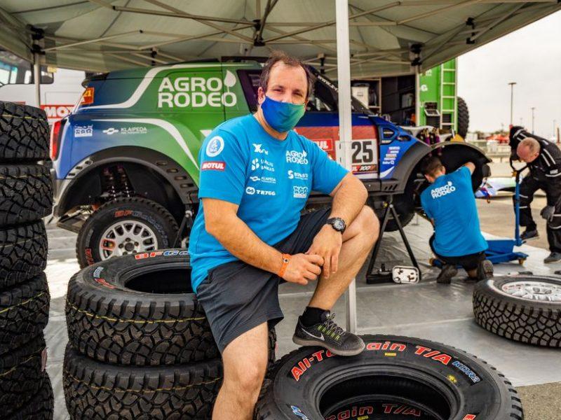 Vaidotas Žala po testų smėlynuose neslėpė džiaugsmo: pajutau, kad Dakaro pasiilgau