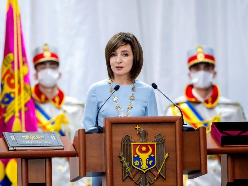 Moldovos prezidentė nesiūlys premjero kandidatūros ir sieks pirmalaikių rinkimų