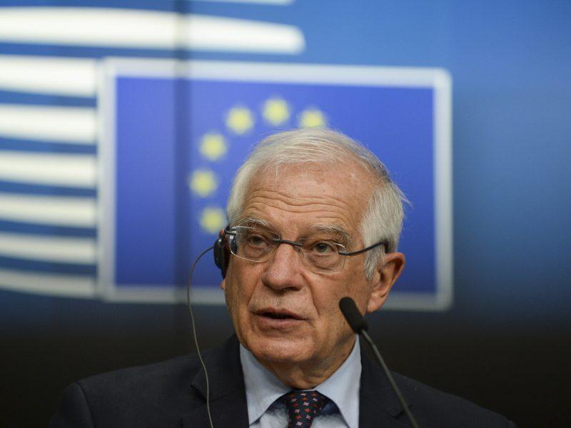 J. Borrellis ragina ES pasinaudoti proga išgelbėti branduolinį susitarimą su Iranu