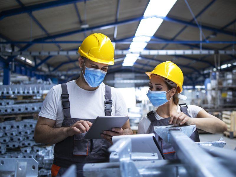 VDI: atnaujinant veiklą, svarbu nepamiršti darbuotojų saugos ir sveikatos reikalavimų