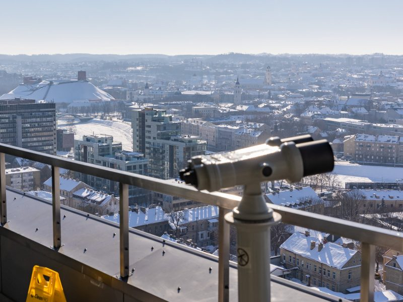 Sostinės savivaldybė suteiks vilniečiams galimybę grožėtis miestu iš 20-ojo aukšto pastato