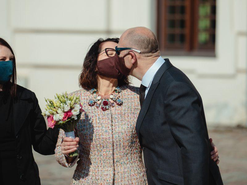 Vestuvės karantino sąlygomis