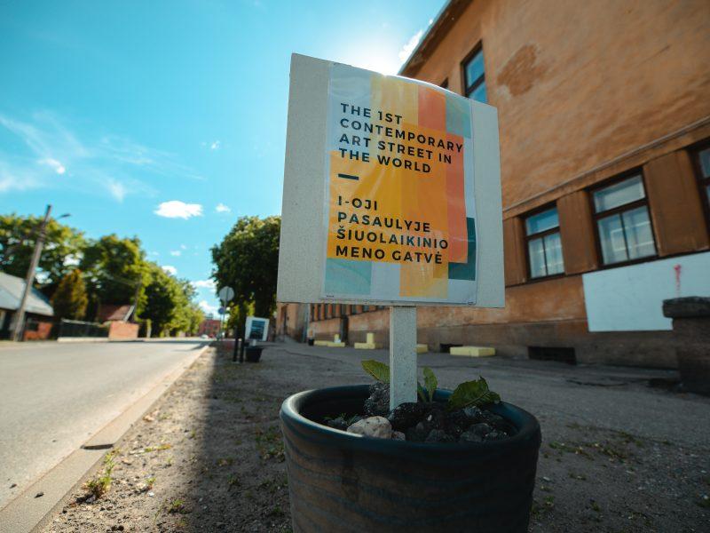 Pirmoji pasaulyje šiuolaikinio meno gatvė