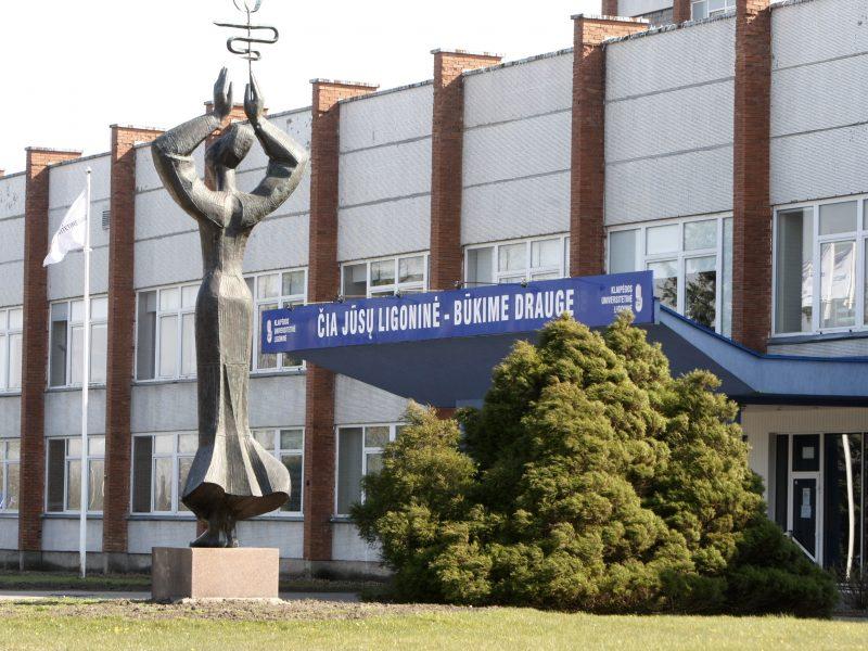 Džiugios naujienos: Klaipėdos ligoninė – be sergančių koronavirusu pacientų