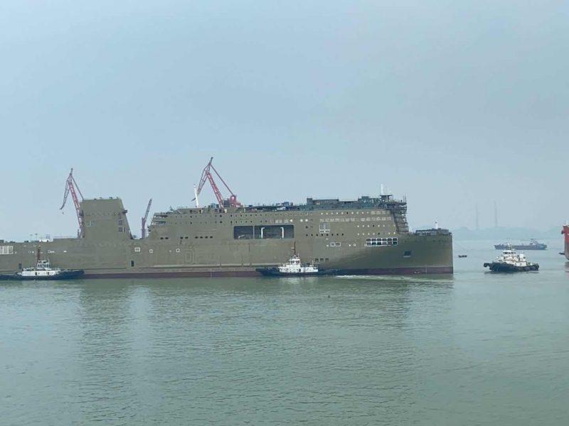 """Istorinis įvykis: Baltijos jūros keleivinį laivyną papildys """"ro-pax"""" tipo keltas"""